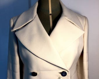 Gibò 1960: New Vintage Jacket-never used-deadstock-short with mother-of-pearl buttons and large reverse