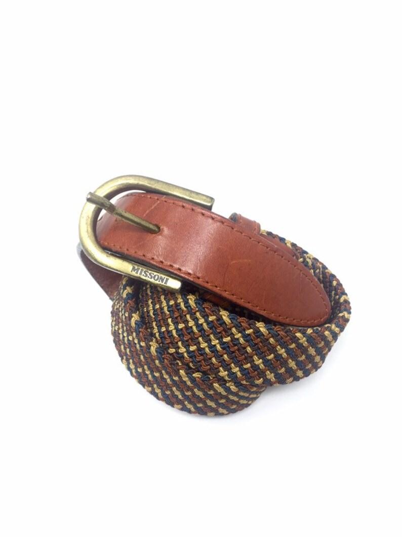 online retailer d40ad e0dc9 Missoni cintura vintage