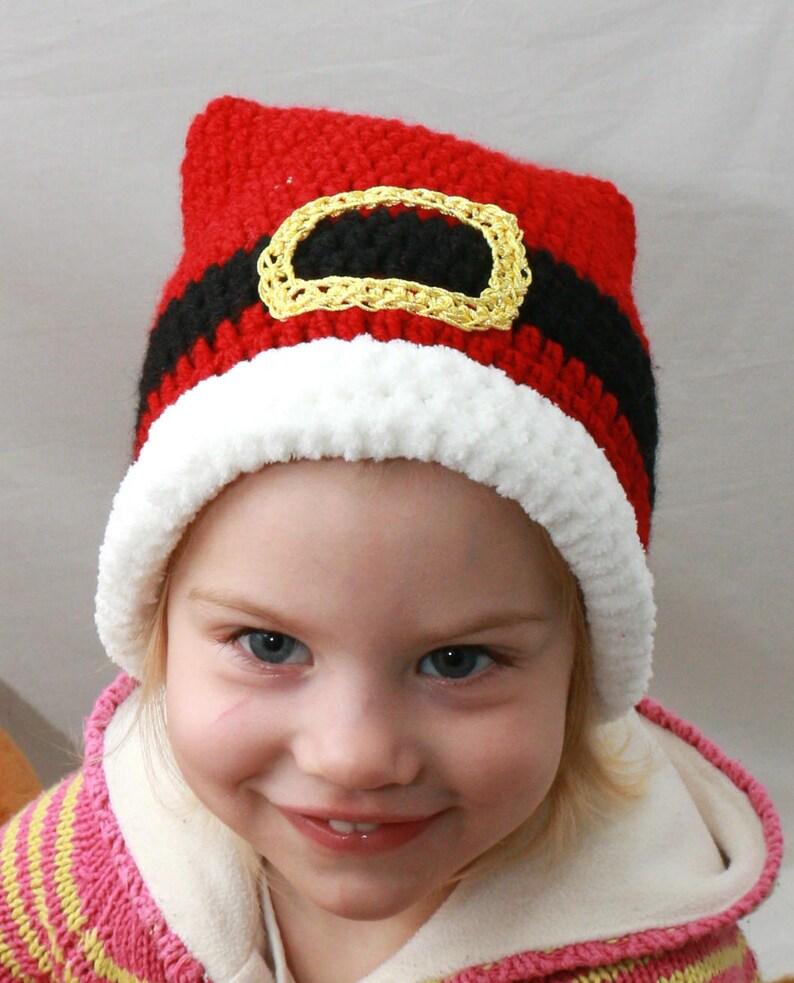 264a4d1be9c Santa HatCrochet Christmas Santa Claus Christmas Hat Baby
