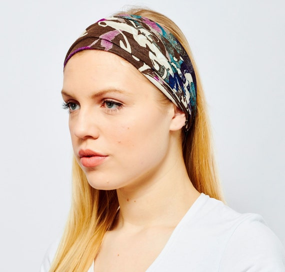 New Unisex Crochet Elasticated Band Head Wrap Winter Head Bands