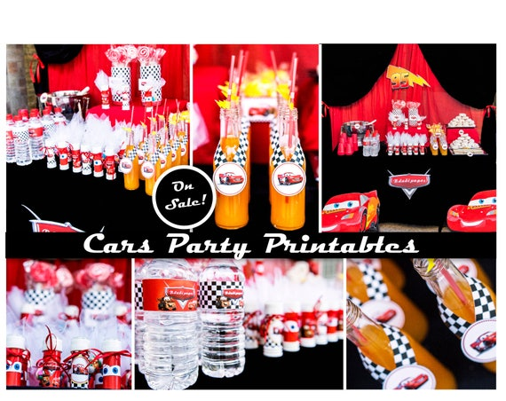 Cars Birthday Party Disney Decorations