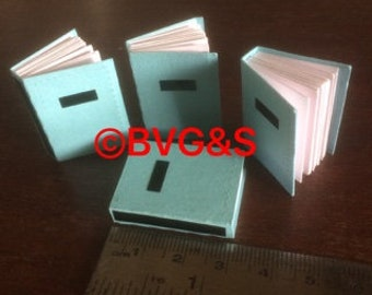 """1"""" Mini Books-Dollshouse Size"""