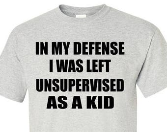 IN MY DEFENSE T-Shirt
