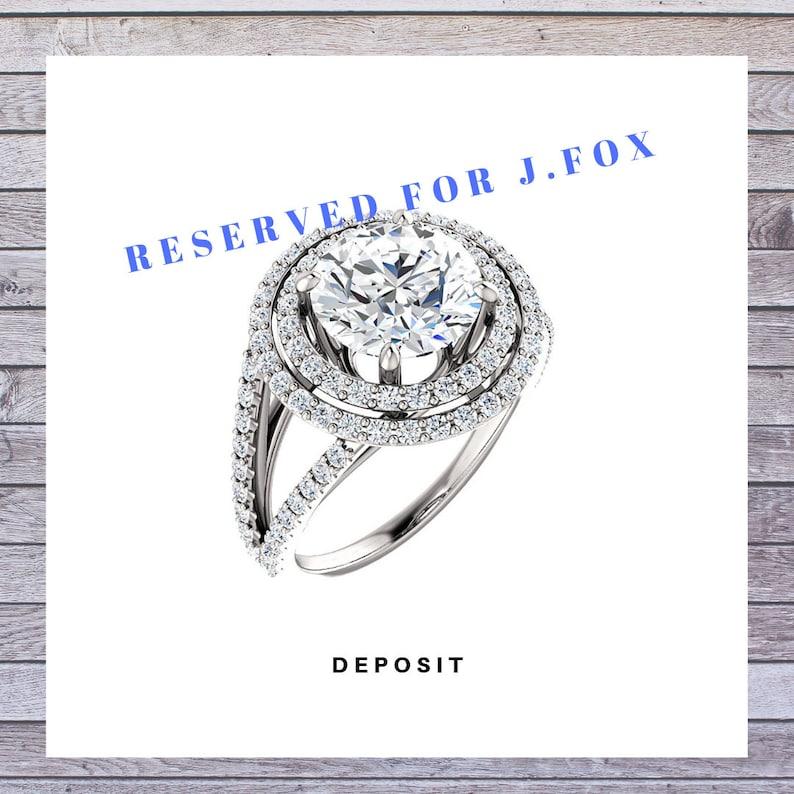 Deposit For J Fox CUSTOM ORDER