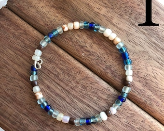 Beaded memory wire bracelets - 3 for 10!