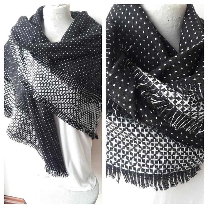 ba85dc4c3c2 Carré foulard châle wrap doudou foulard tendance 2018 2019