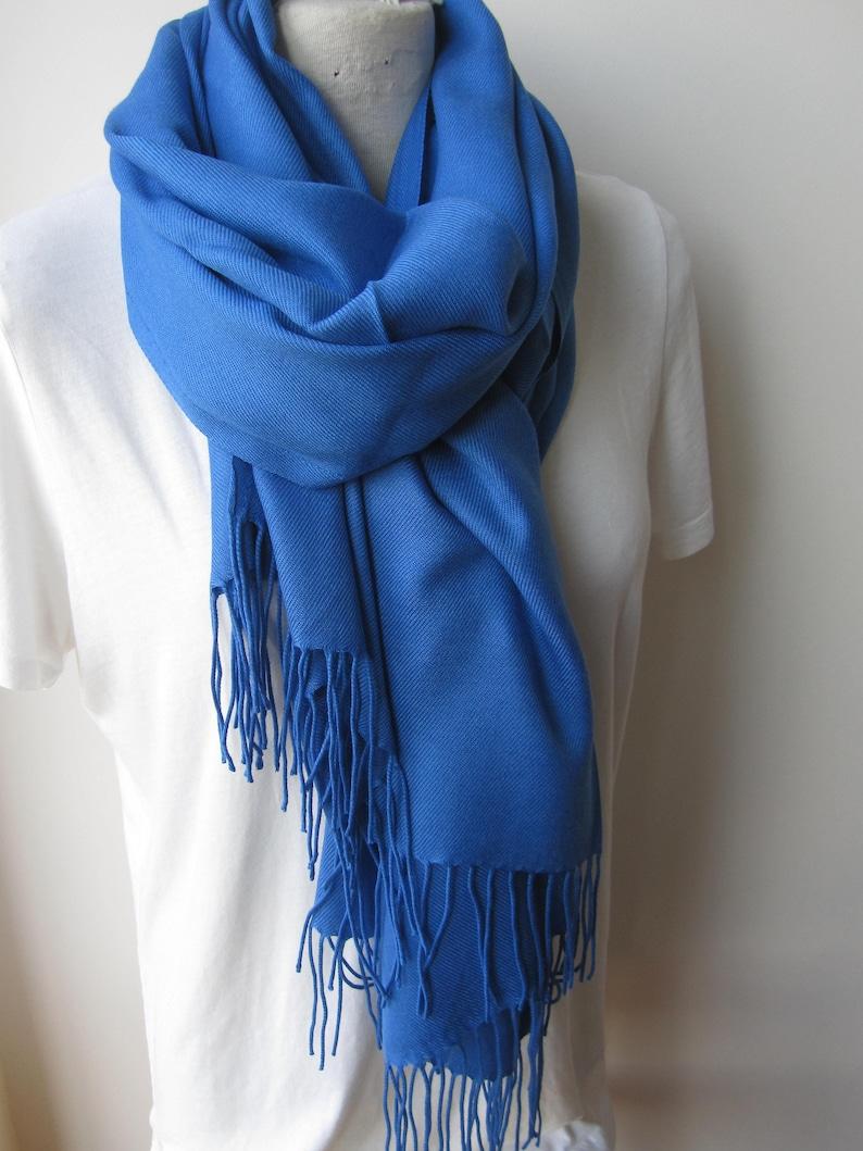 ee0c3674a36 Nébuleuses foulard bleu 2018 2019 automne hiver mode couleur
