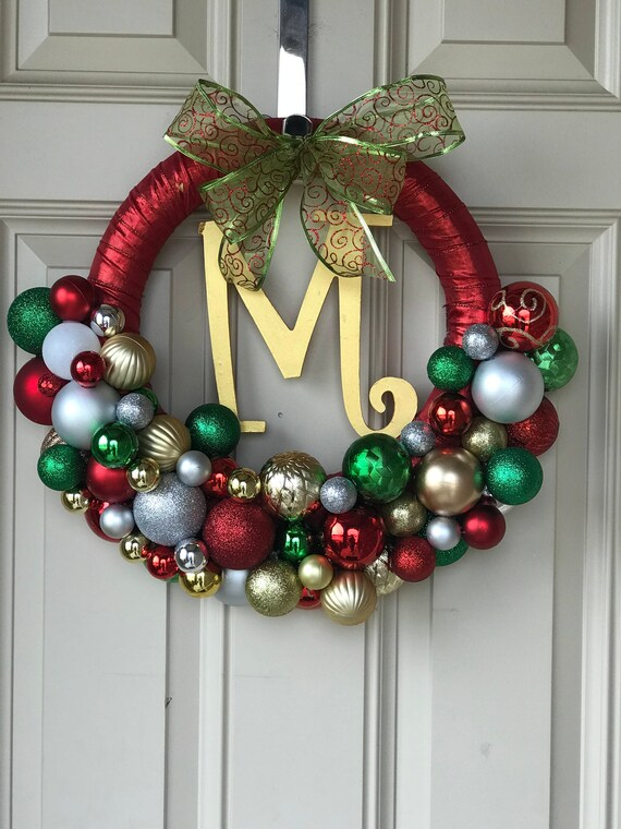 image 0 - Christmas Ball Wreath