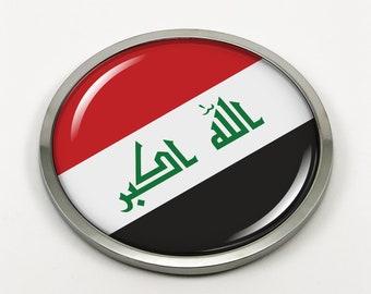 Eco Beast Ecobeast Flag Chrome Emblem Screw On car License plate Decal badge