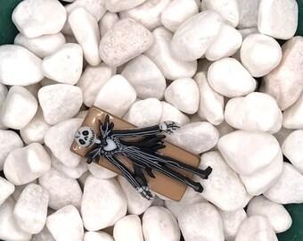 Jack, Nightmare Before Christmas, Neodymium Magnet, Handmade Fridge Jewelry