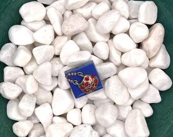 Red Hat Society Purse, Neodymium Magnet, Handmade Fridge Jewelry