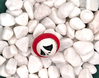 Jack's Head, Nightmare Before Christmas, Neodymium Magnet, Handmade Fridge Jewelry