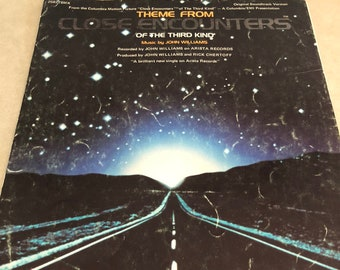 Theme From Close Encounters of the Third Kind - John Williams - Sheet Music 1977