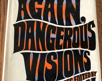 Again, Dangerous Visions - Edited by Harlan Ellison Double Day Hardback 1st BCE