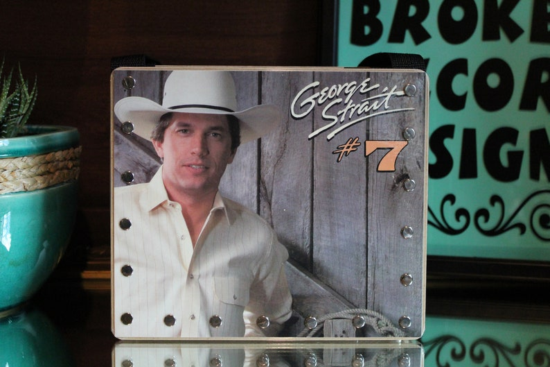 Trending Gifts Record Purse George Strait Broken Records image 0