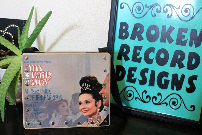 Broken Records Designs My Fair Lady Record Purse Record Handbag Great Gifts Recycled Records Vinyl Purse Vintage Style