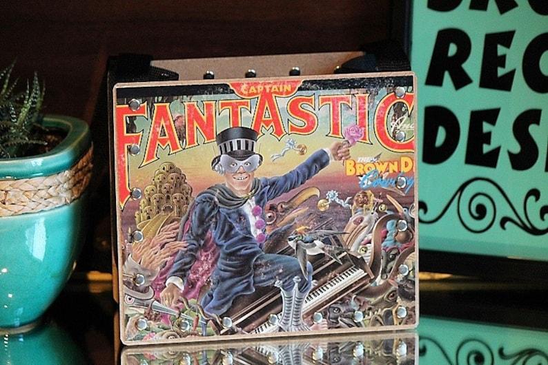 Elton John Record Purse Elton John Songs Song Art 80's image 0