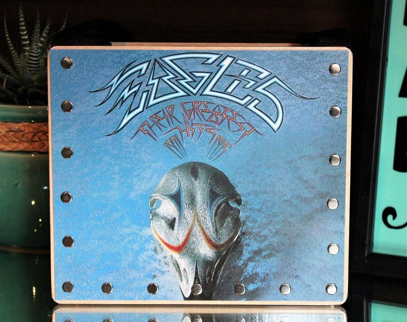 The Eagles Trending Gifts Record Purse Album Cover Purse image 0