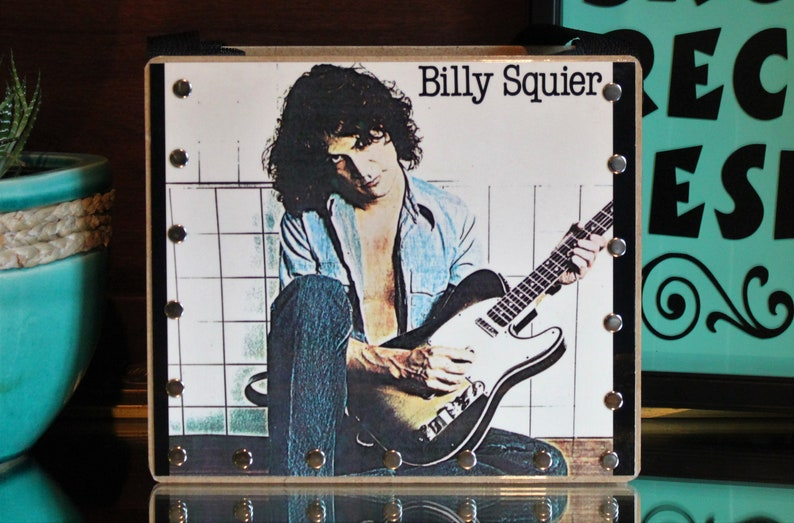 Trending Gifts Music Purse Record Purse Billy Squier Album image 0