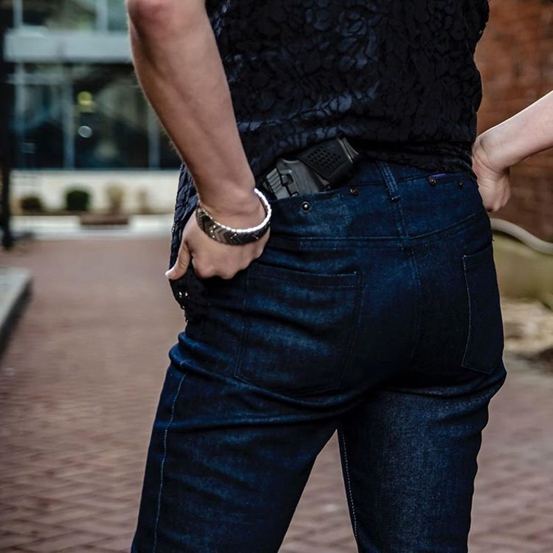 The Skinny Dark Alley Denim Exclusively Designed Concealed Carry Jeans