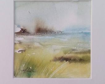 watercolor 1 seaview from greek islands