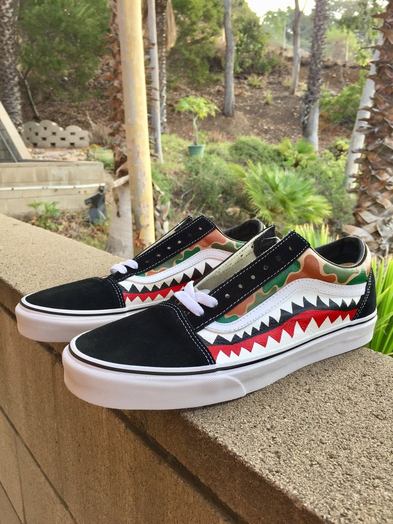a02ceb197f6 THE BEST Custom Old Skool Waterproof Vans with Camouflage and