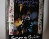 PRINCE and the Revolution Cassette Tape 1984 Purple Rain R B Soul 1980s Jazz Hip Hop KDAY Minnesota Music The Time Morris Day