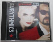 EURYTHMICS CD New Wave Rock Annie Lennox David Stewart Valley Girl KROQ Music