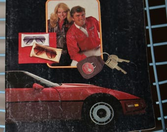 CORVETTE 1984-1985 Mid America Motorworks Catalog Magazine Callaway Turbo Vortech Super Charger Body Kit Vents ZR1
