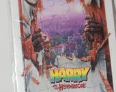 Harry and the Hendersons (1986) Puzzle Toy by Glade Promo Bigfoot SASQUATCH Galoob Bendy