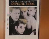 DEPECHE MODE (1985) Cassette Tape Catching Up 1980s New Wave Dance Pop Synth Electro Andy Fletcher Martin Gore Vince Clarke Alan Wilder