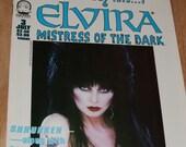 ELVIRA Mistress of the Dark Comic Book (1993) Eclipse Comics Comic Book 3 1980s Goth Horror Icon