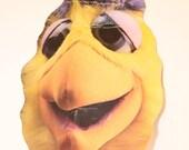 San Diego Padres Chicken Wienerschnitzel Mask (1984) Promo TOPPS Chicken Fan Wiener Schnitzel Hot Dogs Alan Wiggins Tony Gwynn