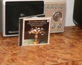 Johann Sebastian Bach CD quot Chromatic Fantasia Fugue quot Trevor Pinnock Classical Music Orchestra Vintage 1990s Harpsichord German Import