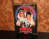 Sigfried and Roy (1983) Beyond Belief Frontier Hotel and Casino Program Post Card Las Vegas White Tiger Lion Show Restaurant Vintage 1980