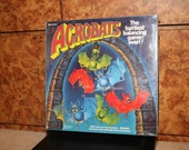 ACROBATS (1989) Boardgame Game 1980s Slumber Party Ideal Plastic Bats Board Game