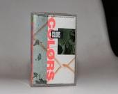 COLORS (1988) Cassette Soundtrack Tape Sean Penn Robert Duvall María Conchita Alonso Blood VS Crips 1980s Afrika Islam Ice T Rap Lowrider