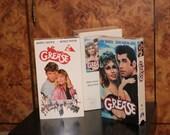 GREASE 1 and 2 VHS Lot John Travolta Olivia Newton-John Stockard Channing Eve Arden Maxwell Caulfield Michelle Pfeiffer Adrian Zmed