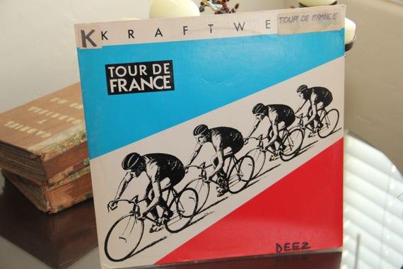 Kraftwerk 1983 Tour De France Record Electro Hip Hop Etsy