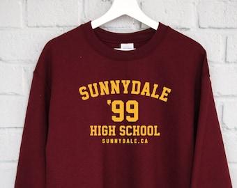 Sunnydale High School Sweatshirt, Buffy The Vampire Slayer Shirt, Buffy Shirt, Sunnydale Tshirt, Sunnydale Razorbacks, Sunnydale Sweatshirt