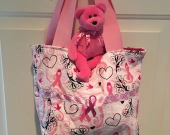 Breast Cancer Awareness purse/tote
