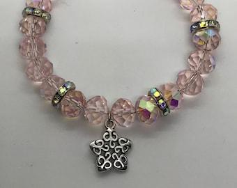 Star glass bracelet