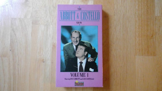 The Abbott Costello Show Volume 1 VHS