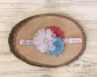 Sweet Spring Headband/Baby Girl Easter Headband/Bunny Headband