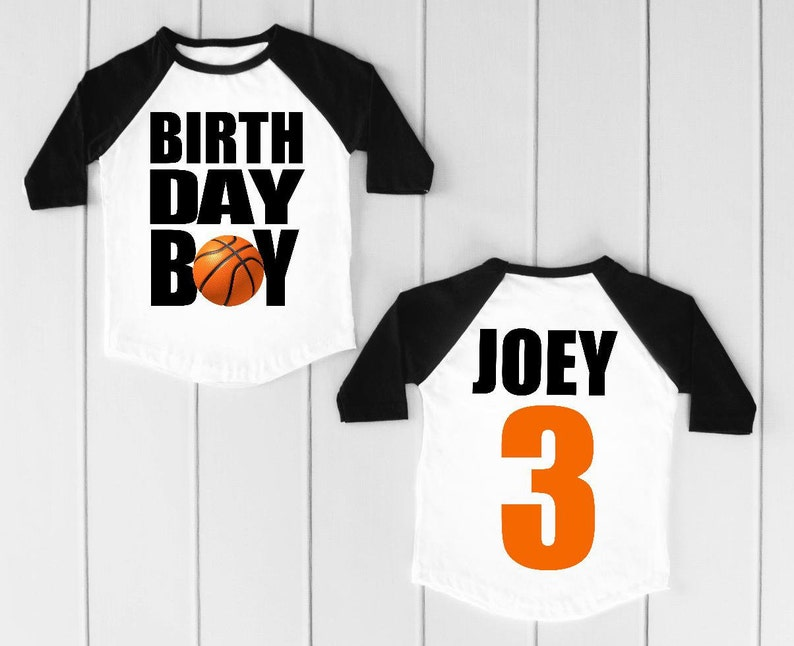 Basketball Shirt Birthday Boy Sports