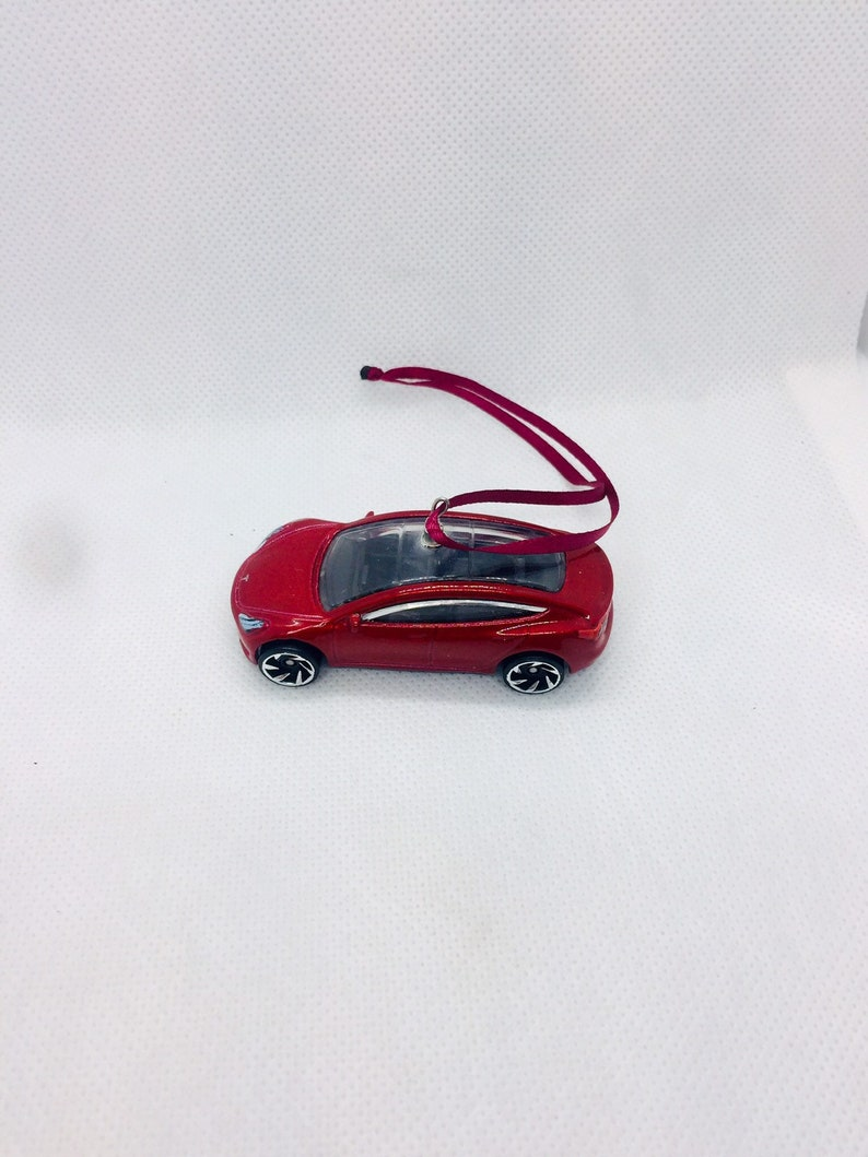 New TESLA Model 3 Car Christmas Ornament Stocking Gift ...