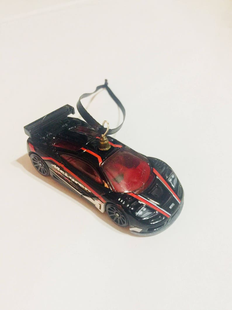 McLaren F1 GTR Race Car Christmas Ornament Stocking Stuffer High Quality  Handmade Best Gift Man Guy Boy Toy Kids Present P1 720s 650 570