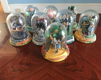 Wizard of Oz Franklin Mint Globe Lot of 8