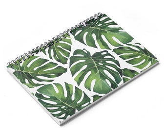 Palm Leaf Notebook Etsy Lined notebook 40 leaves size:a5. palm leaf notebook etsy