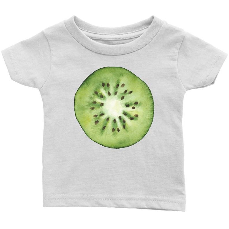 246752674 Kiwi Fruit Baby T-shirt Tropical Fruit Unique Baby Shirt 6 | Etsy